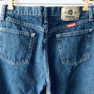 Wrangler Jeans - WRANGLER MEN'S DENIM JEANS BLUE STRAIGHT CUT 31x32